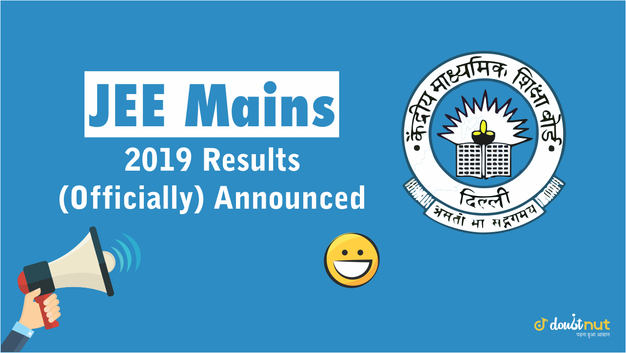 JEE Mains 2019 Result