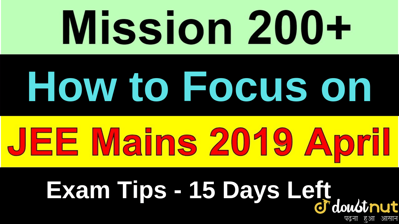 How to prepare for JEE Mains 2019 April during Holi Celebration