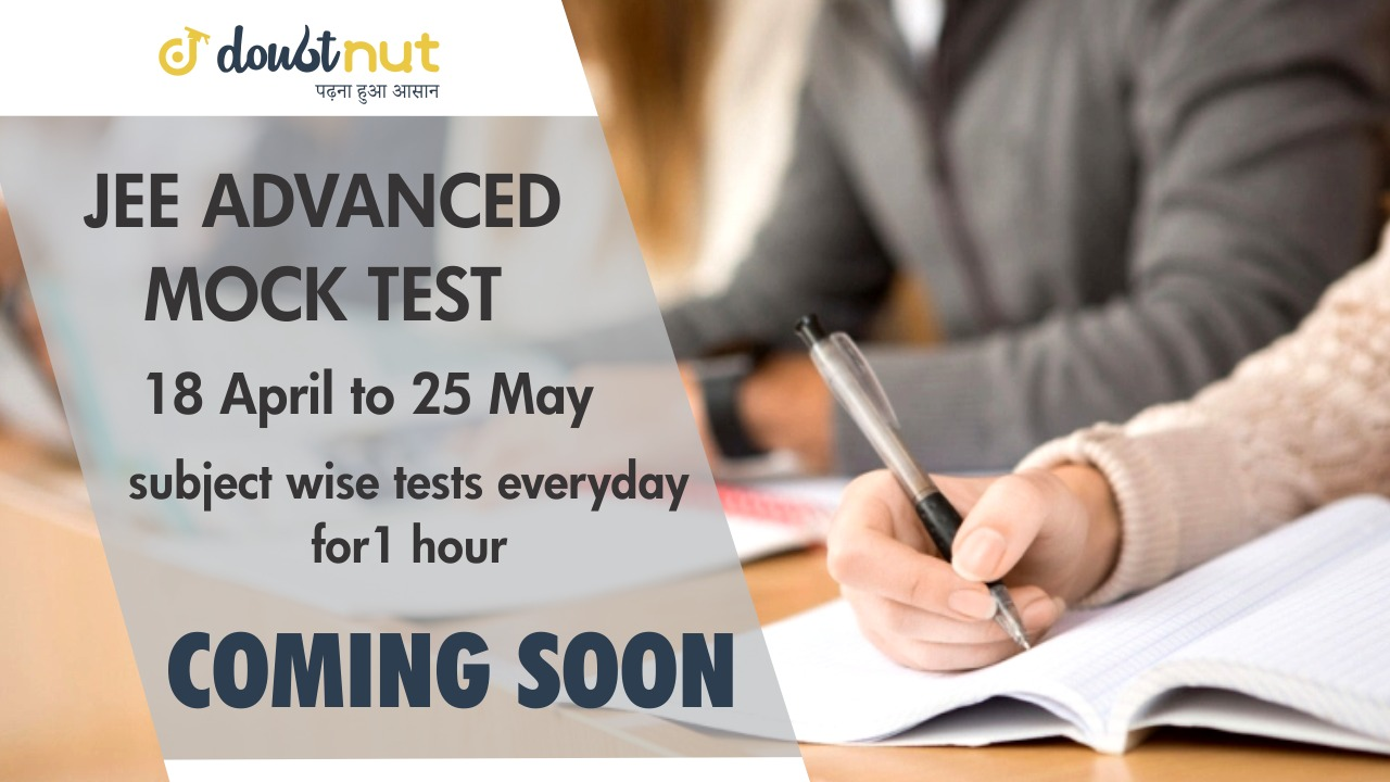 JEE Advanced Mock Test 2019