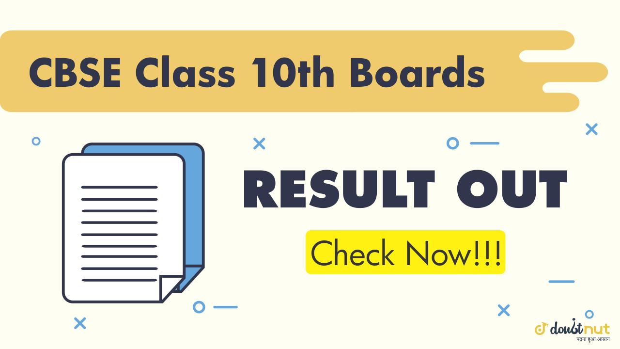 CBSE Class 10 Result 2019