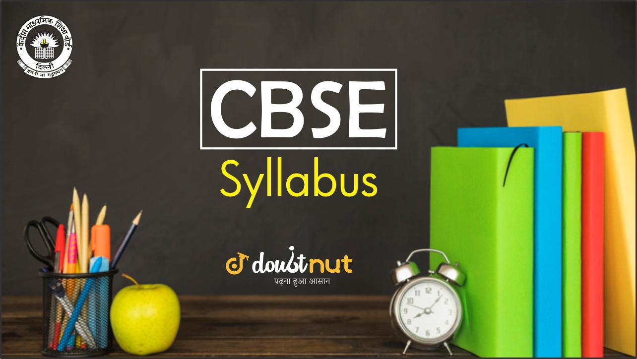 cbse syllabus banner