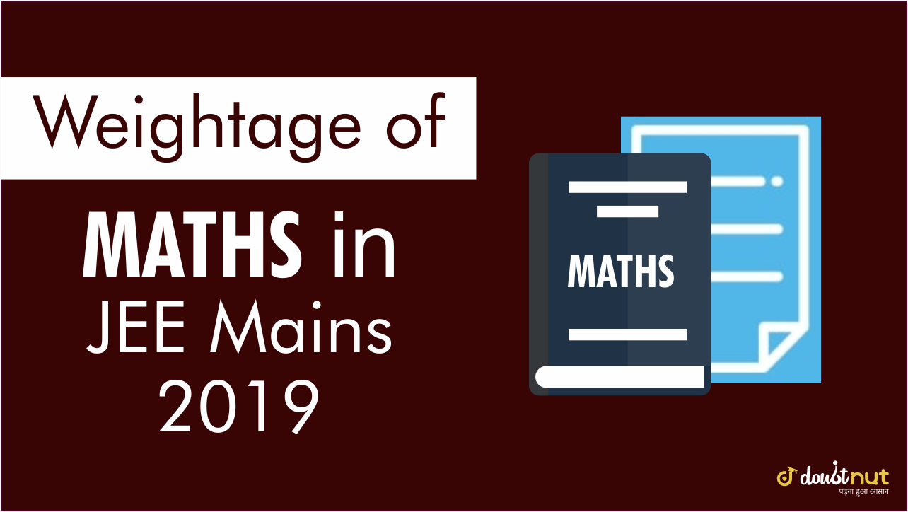 maths weightage banner