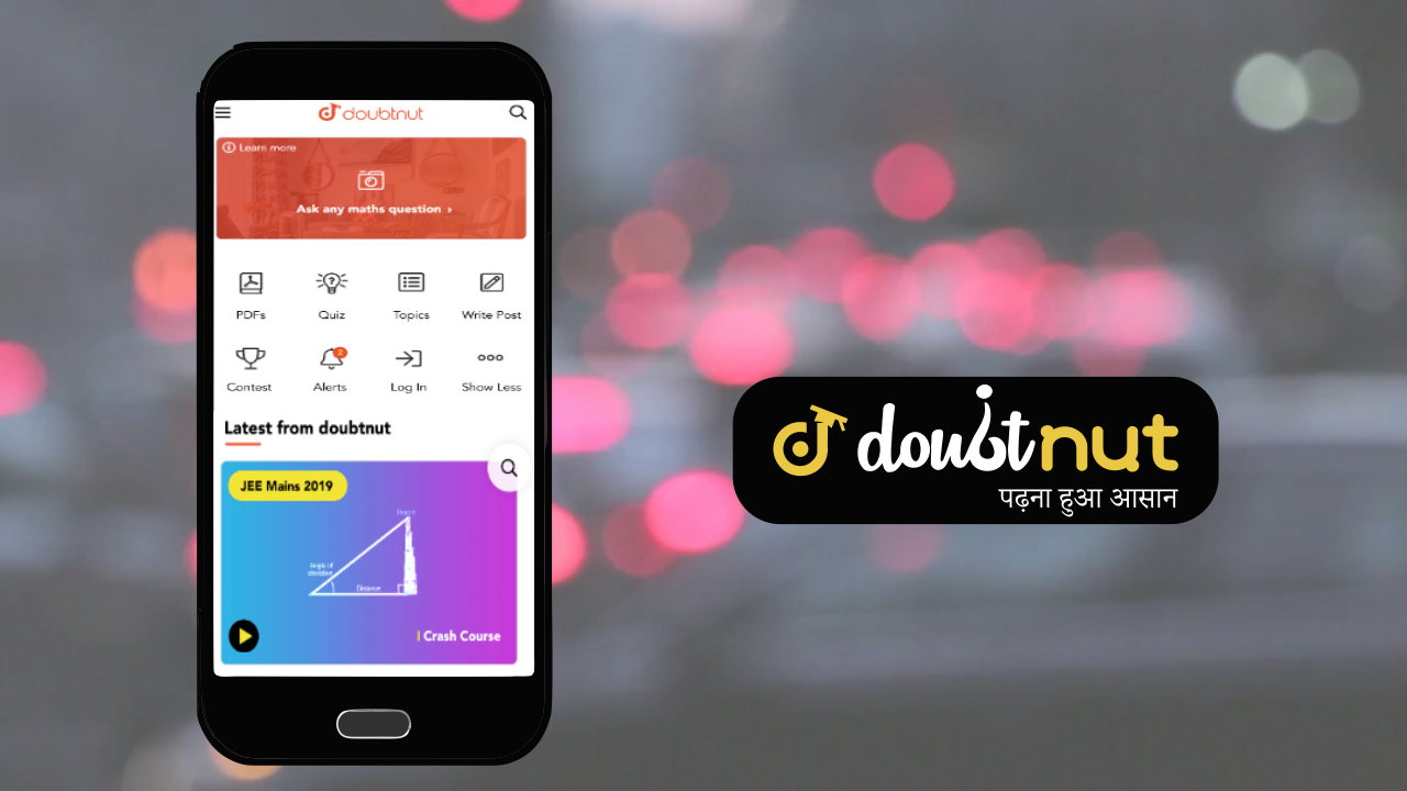 Doubtnut-Free Online Study education app for CBSE, IIT JEE