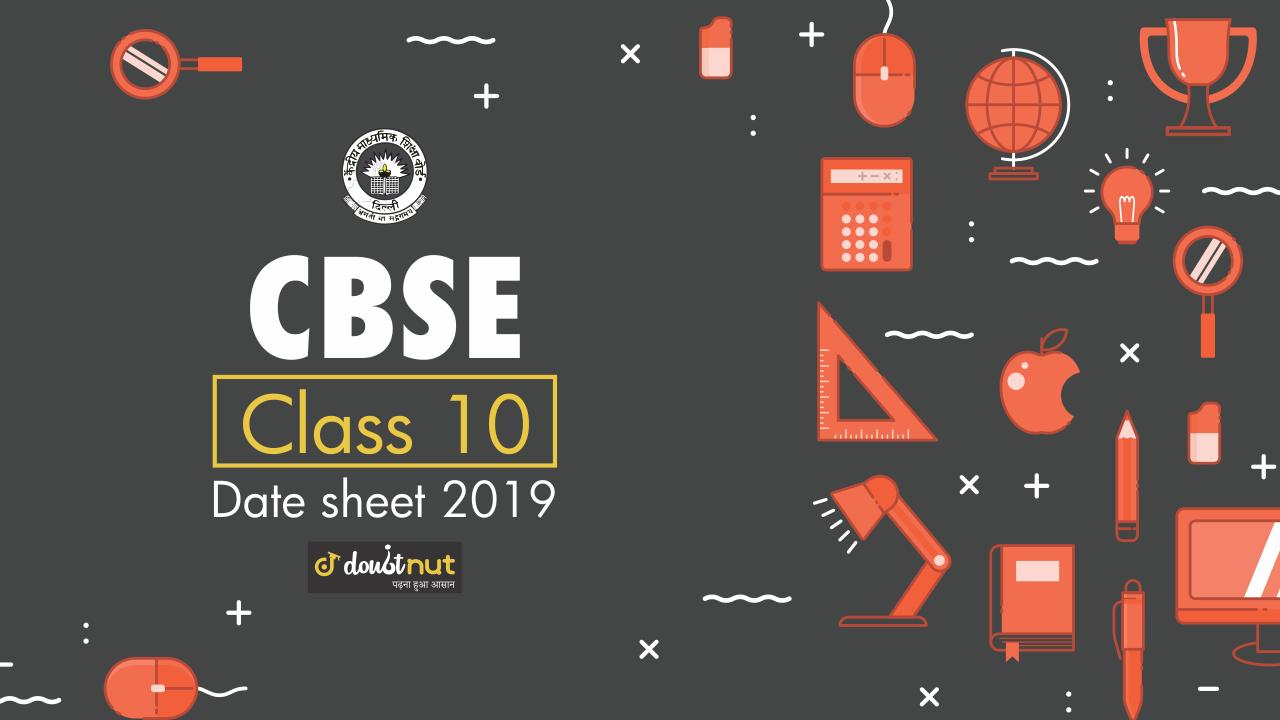 cbse class 10 datesheet banner