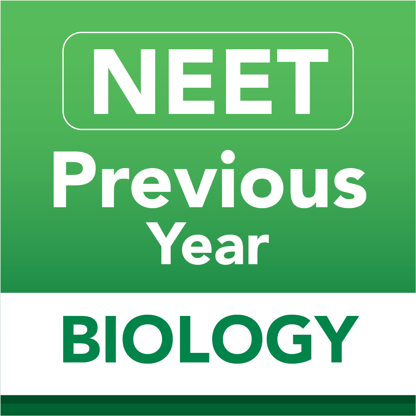 Neet previous biology