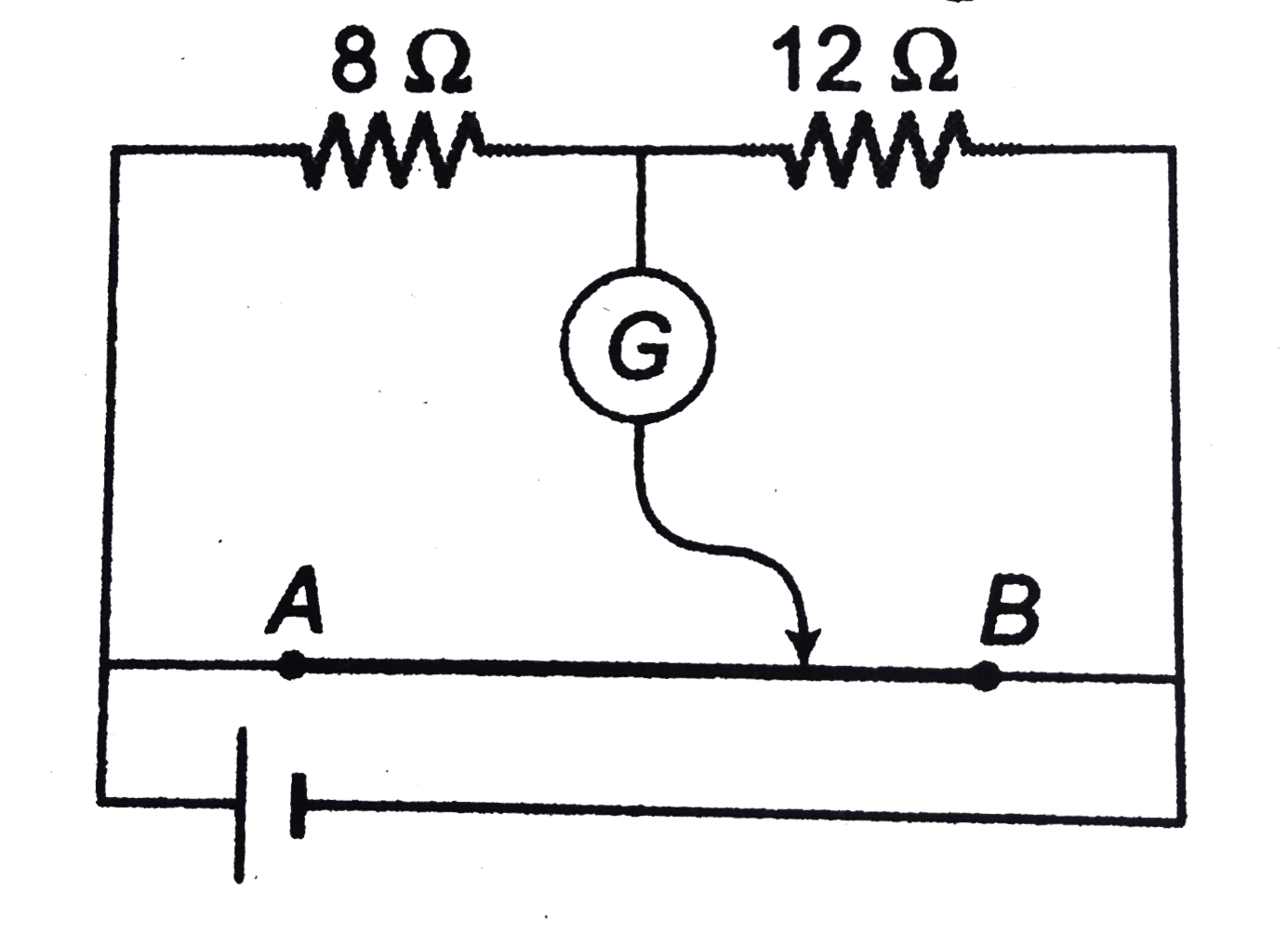 the potentiometer wire ab shown in figure is 40 cm long where thePotentiometer Wiring Please Complete All Details #7