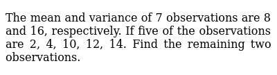 NCERT Class 11 STATISTICS   Miscellaneous Exercise   Question No. 02