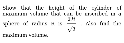 NCERT Class 12 APPLICATION OF DERIVATIVES | Miscellaneous Exercise | Question No. 17