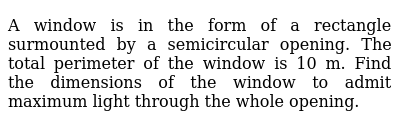 NCERT Class 12 APPLICATION OF DERIVATIVES | Miscellaneous Exercise | Question No. 11