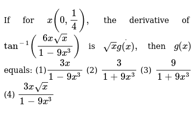 JEE MAINS Class 12 DIFFERENTIATION