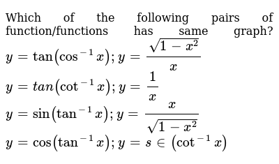 Which function has the same range as y = csc x? a ) y = sin