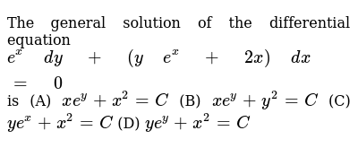 NCERT Class 12 DIFFERENTIAL EQUATIONS | Miscellaneous Exercise | Question No. 18