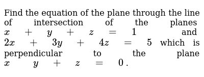 NCERT Class 12 THREE DIMENSIONAL GEOMETRY | Exercise 03 | Question No. 11