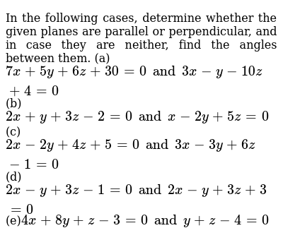 NCERT Class 12 THREE DIMENSIONAL GEOMETRY | Exercise 03 | Question No. 13