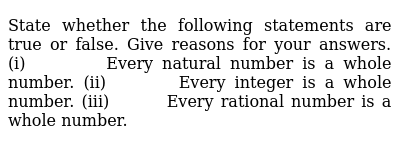 NCERT Class 9 NUMBER SYSTEMS | Exercise 01 | Question No. 04