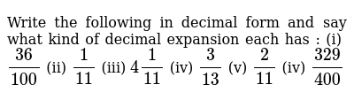 NCERT Class 9 NUMBER SYSTEMS | Exercise 03 | Question No. 01