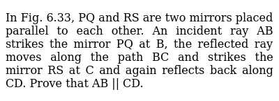 NCERT Class 9 LINES AND ANGLES   Exercise 02   Question No. 06