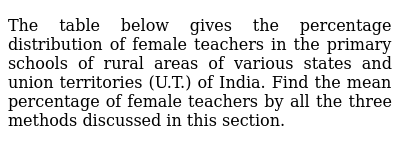 NCERT Class 10 STATISTICS   Solved Examples   Question No. 02
