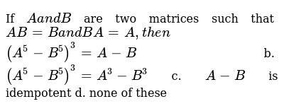 CENGAGE SOLUTIONS Class 12 MATRICES