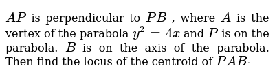 CENGAGE SOLUTIONS Class 11 PARABOLA