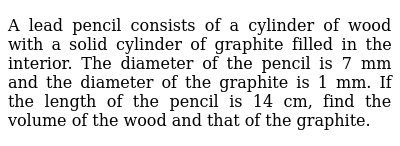 RD SHARMA Class 9 SURFACE AREA AND VOLUME OF A RIGHT CIRCULAR CYLINDER