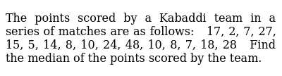 NCERT Class 9 STATISTICS | Solved Examples | Question No. 13