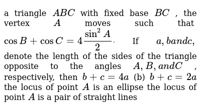 JEE ADVANCED Class 11 SOLUTION AND PROPERTIES OF TRIANGLE