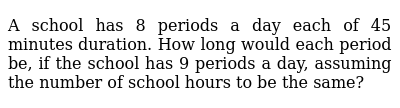NCERT Class 8 DIRECT AND INVERSE PROPORTIONS | Exercise 02 | Question No. 11
