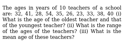 NCERT Class 7 DATA HANDLING | Solved Examples | Question No. 03