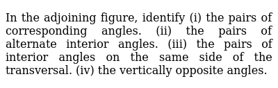 NCERT Class 7 LINES AND ANGLES | Exercise 02 | Question No. 02