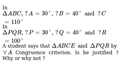 NCERT Class 7 CONGRUENCE OF TRIANGLES | Exercise 02 | Question No. 04