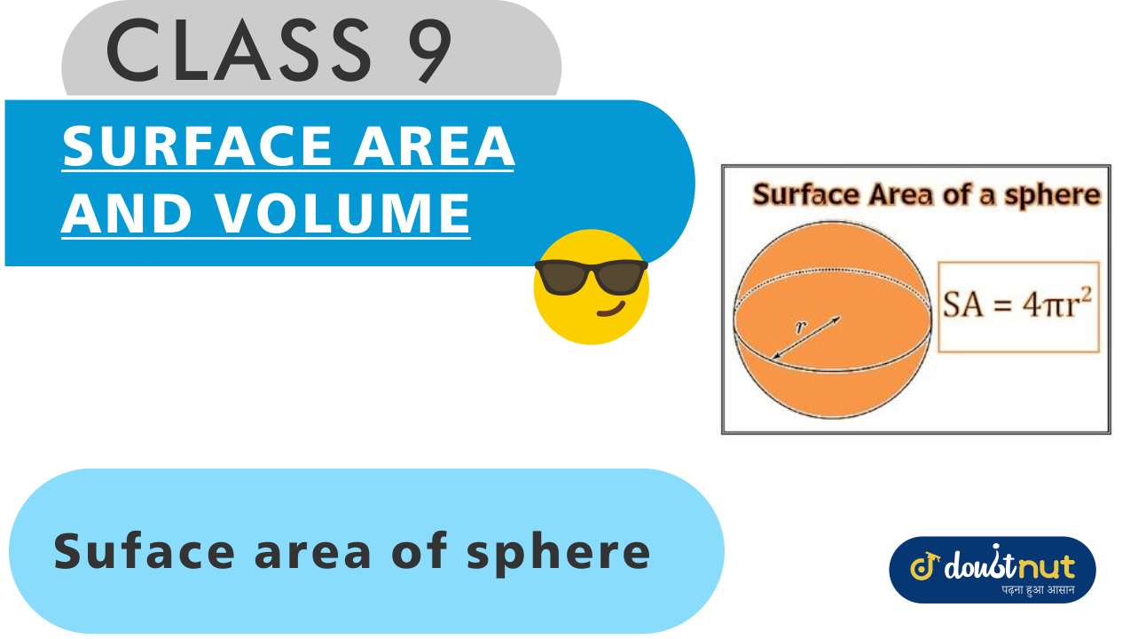 Surface area of Sphere and Hemisphere
