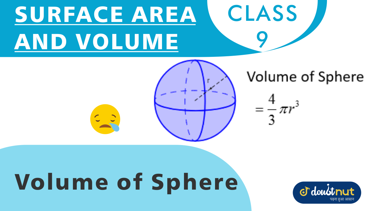 Volume of Sphere and Hemisphere