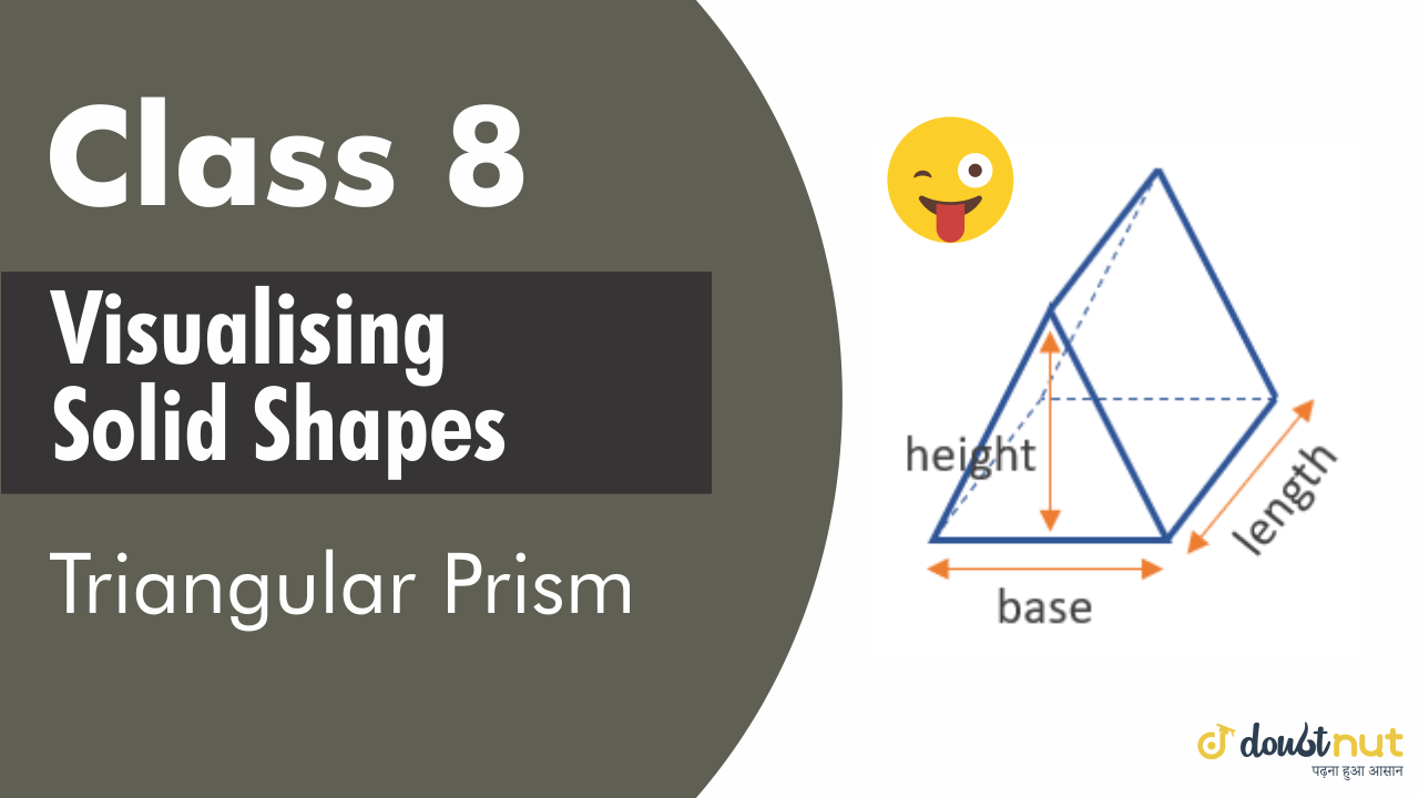 Triangular prism a prism is called triangular prism if its ends are triangles.